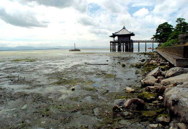 琵琶湖渇水の現状